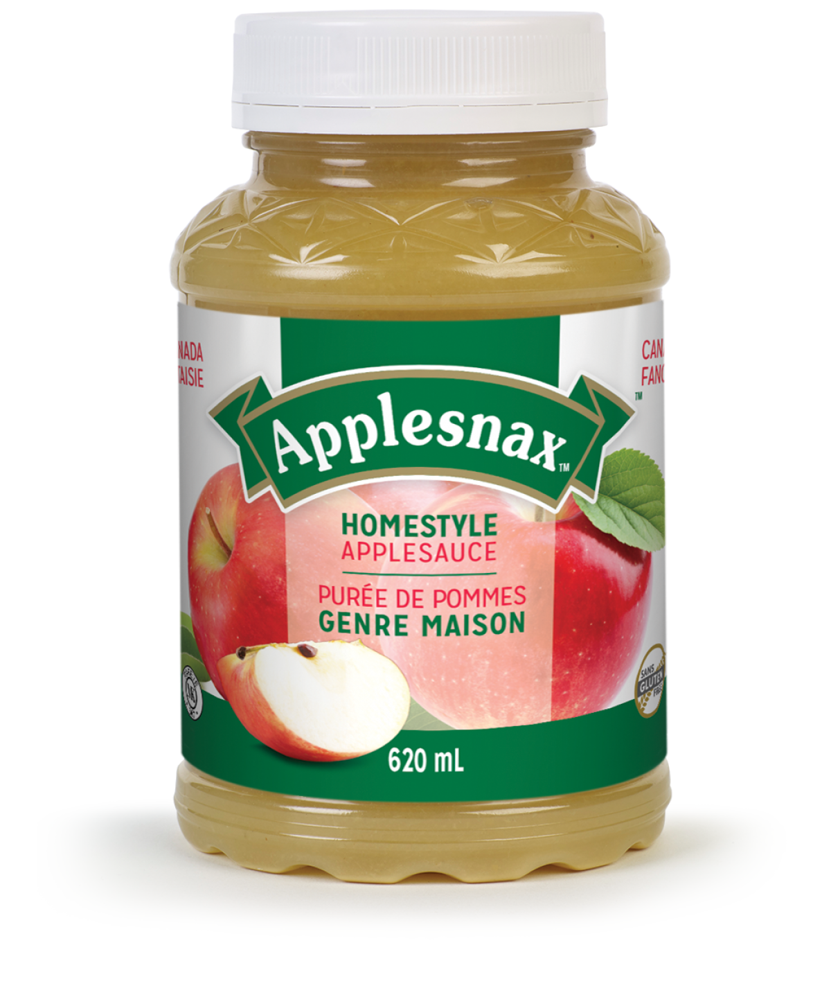 Applesnax Homestyle Applesauce Jar