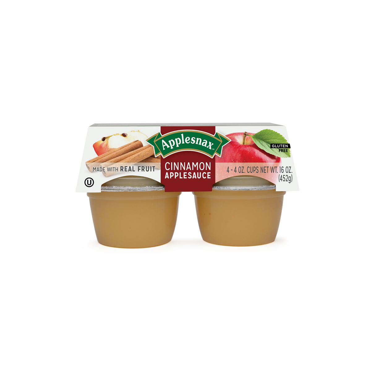 Applesnax Cinnamon Usa 4 Cups