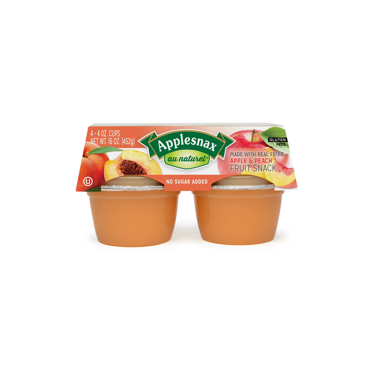 Au Naturel Peaches Usa 4 Cups