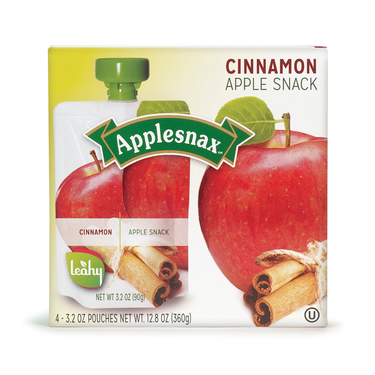 Boite 4 Pouch Applesnax Cinnamon Usa