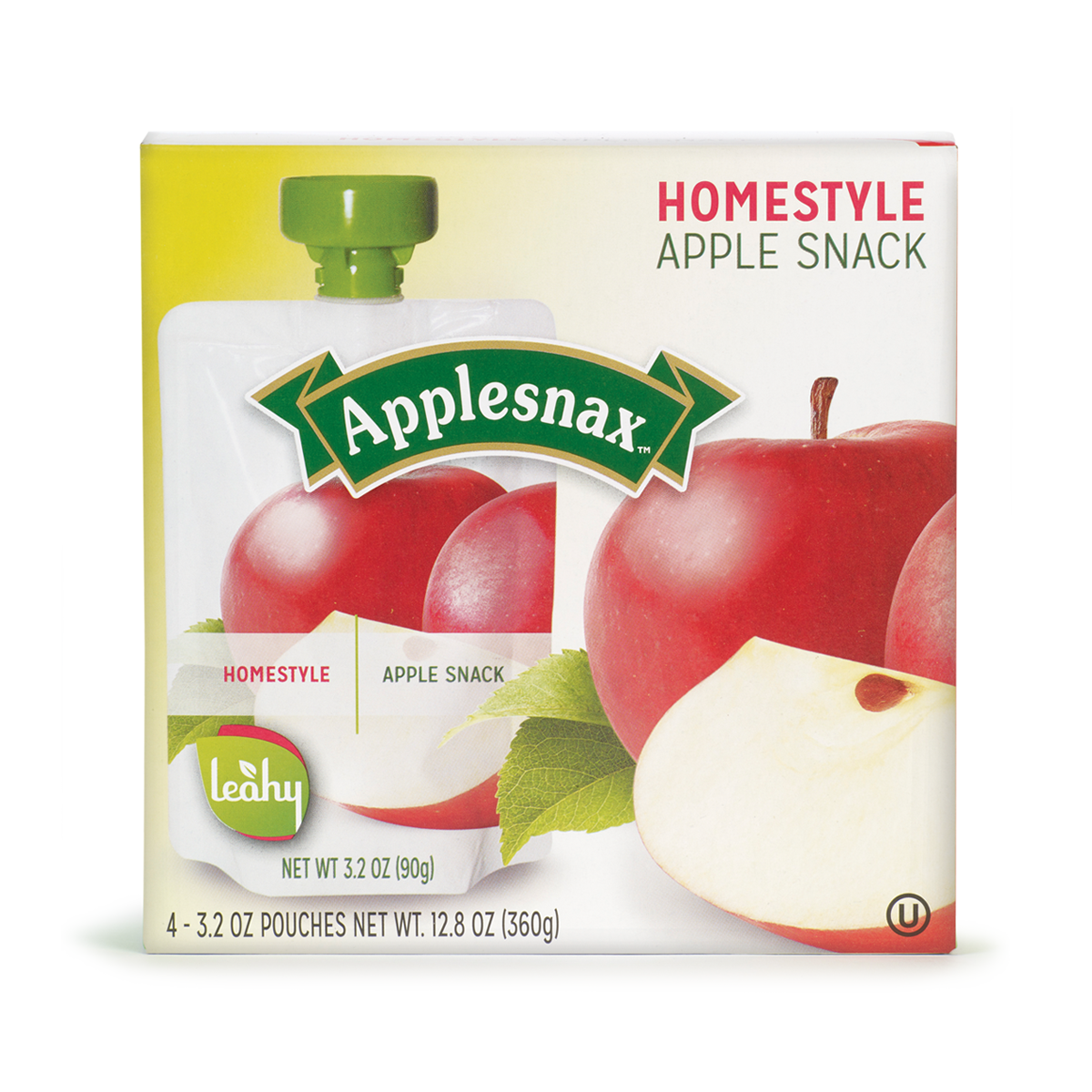 Boite 4 Pouch Applesnax Homestyle Usa
