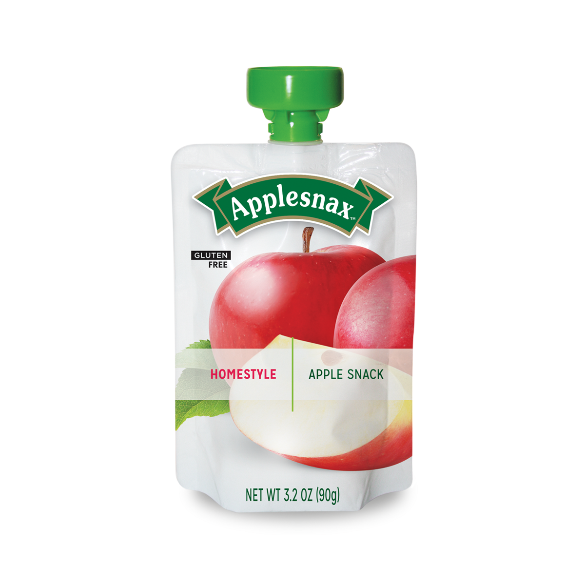 Applesnax Homestyle Applesauce Pouches
