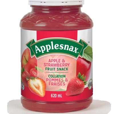 Pot de Applesnax Pommes & Fraise
