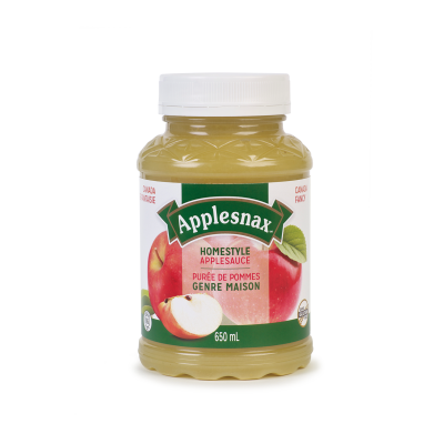 Applesnax Homestyle Applesauce Jar