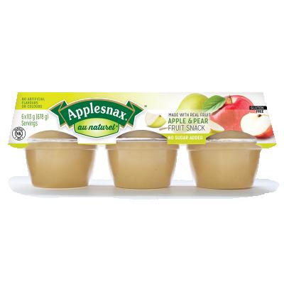 Applesnax Au Naturel Apple Pear Fruit Snack