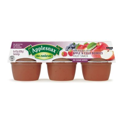 Applesnax Au Naturel Apple & Fieldberry Cups