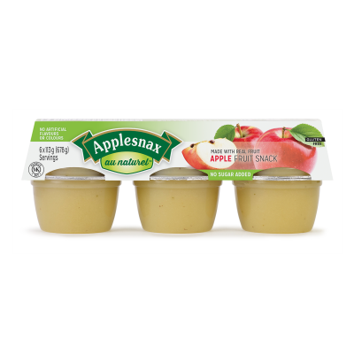 Applesnax Au Naturel Cups
